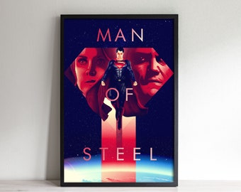 Symbol of Hope - Inspired By Man of Steel - Movie Poster