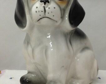 Vintage Dog Figurine Ceramic Dog Ceramic Puppy Puppy Figurine Nursery Decor Bookcase Art