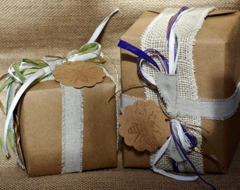 Gift Wrap Add-on || Gift Wrap || Christmas Wrap || Holiday Wrapping