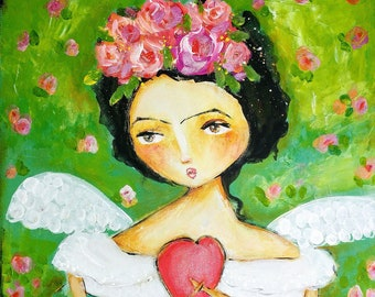 Frida has wings- CANVAS PRINT