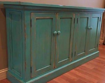 4-Door Buffet Cabinet