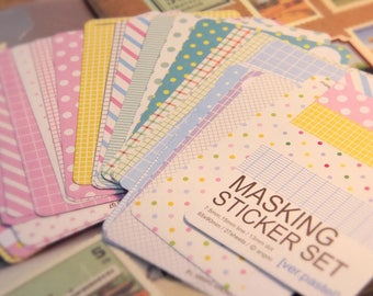 Decorative sticky craft paper available in 4 assorted packs