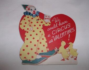 Carrington Clown Valentine Mechanical