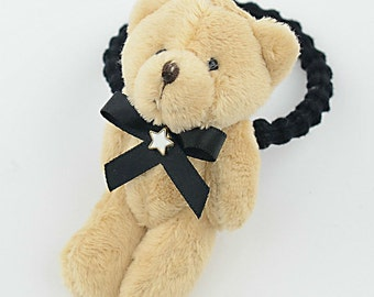 Cute, Bear, Elastic, Hair, Bands, Lovely, Kids, Boutique Accessories,Baby Girls Hair Accessories