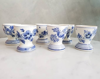 Vintage Delft Egg Cups. Price for each