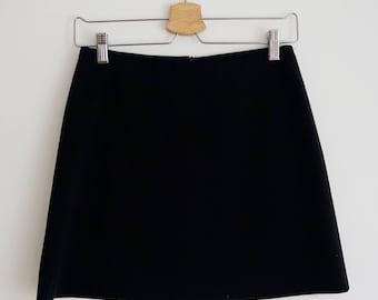 Vintage 90's Jacob Black Mini Skirt