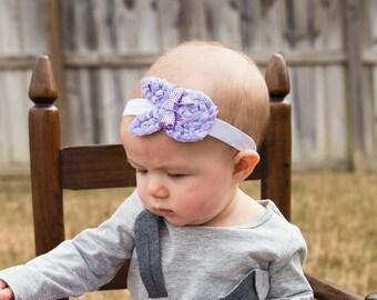 Lavender Easter Bunny, Lavender Bunny Headbands, Easter Bunny Headbands, Easter Headbands, First Easter Headbands, Newborn Easter Headbands