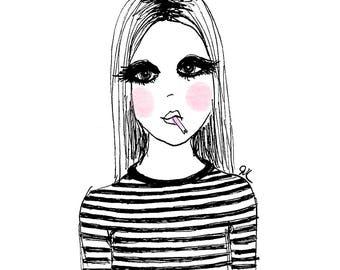 Fashion Illustration - GIRL 2