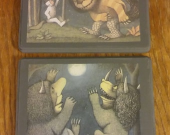 Where the Wild Things Are Plaque Set