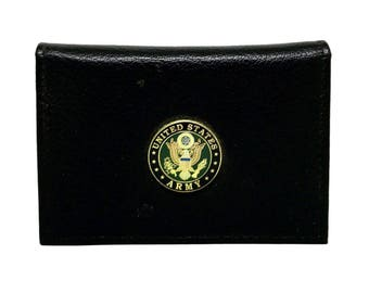 Army Business Card Case – 1″ Color