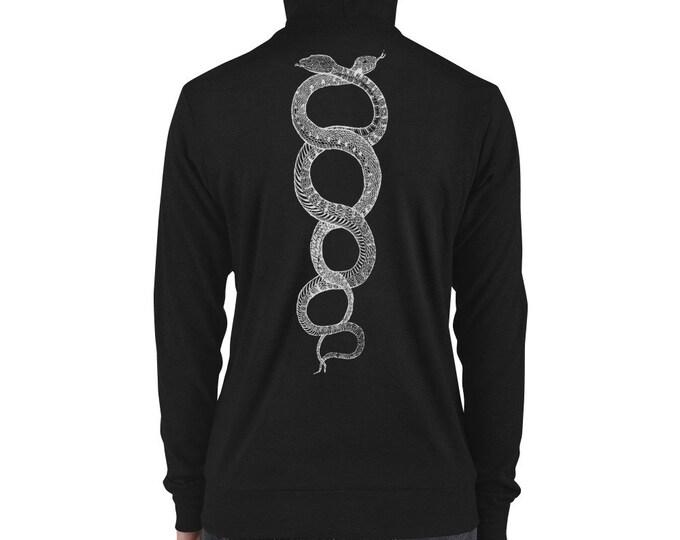 Serpentis Lightweight Zip Up Hoodie