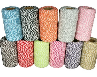 2mm - 10 ply Bakers Twine Cord 100 yards