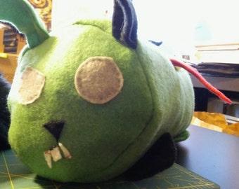 Zombie Bunny Plush
