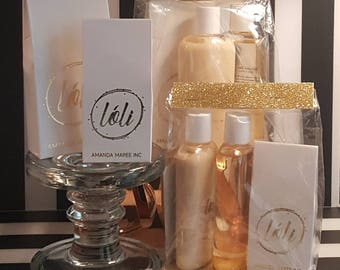 Lóli Gift Set - Eau de Parfum, Hand & Body Lotion and Shower Gel - the perfect gift