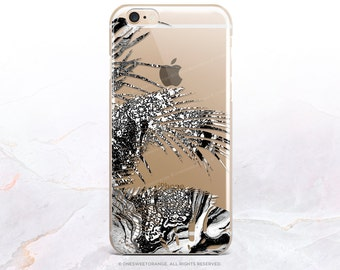 iPhone 8 Case iPhone X Case iPhone 7 Case Tropical Clear GRIP Rubber Case iPhone 7 Plus Clear Case iPhone SE Case Samsung S8 Plus Case U6
