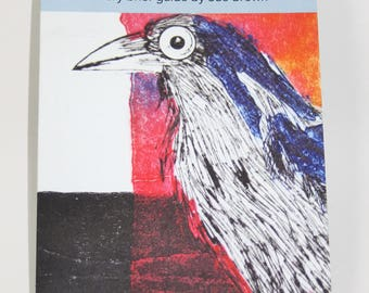 How to Make a Dry Point with a Collagraph Twist