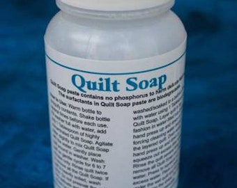 Quilt Soap (Paste), Quilter's Rule, 8 ounces, Quilt Cleaning Product