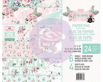 Havana 12x12 Paper Pad