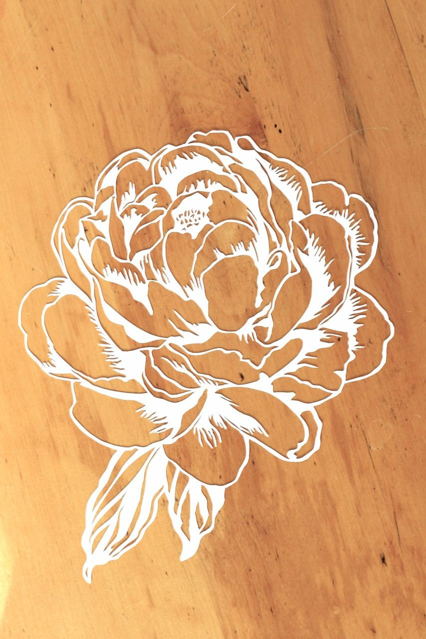 Paper flower cut outs image collections flower decoration ideas unique paper cut out flowers image collection top wedding gowns flower paper cut maggilocustdesign mightylinksfo mightylinksfo
