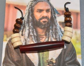 The Walking Dead King Ezekiel Necklace - King Ezekiel  Cosplay  Necklace -King Ezekiel  Costume  Necklace The Kingdom Necklace