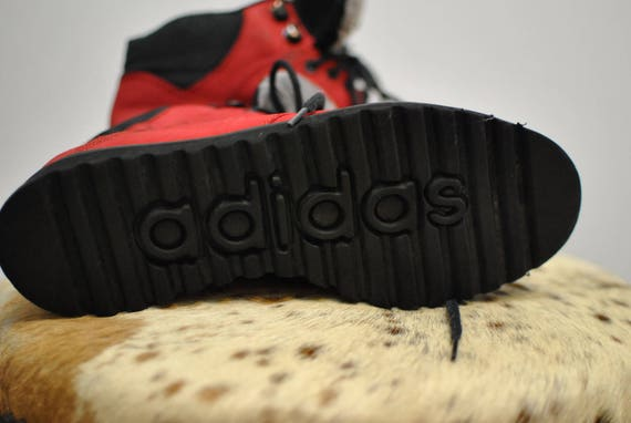 Vintage TRIBE unisex ADIDAS shoes leather ankle 087 shoes rZrxw