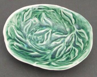 Green Porcelain Dish