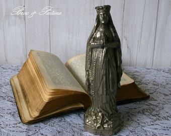 Virgin statue N. old heavy metal