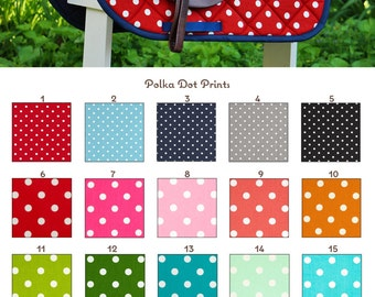 Custom Saddle Pad Polka Dot Many Colors - MADE TO ORDER