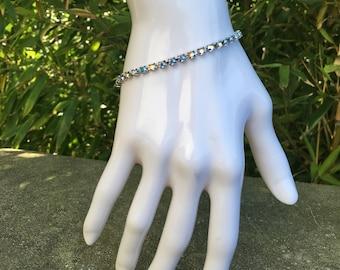 Swarovski chain bracelet
