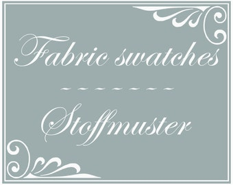 Fabric swatch, colour sample for dance skirt