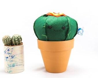 Kawaii cactus, Felt cactus, Courtney the felt cactus, decoration, plant you can't kill, cactus ornament