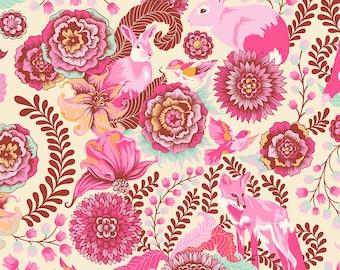 Tula Pink Sunrise Fox Trot OOP cotton woven