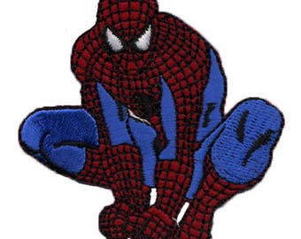 Spiderman patch on the lookout for