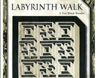 Labyrinth Walk Quilt pattern Queen size by The Guilty Quilter