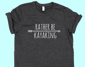 Rather Be Kayaking - Unisex Jersey SHIRT