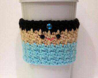 Crocheted Princess Jasmine Coffee Cup cozy