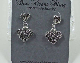 Elegant Marcasite Earrings