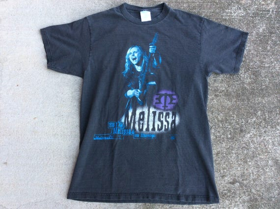 Melissa Etheridge T Shirt Vintage 90s 1994 Made In USA Single Stitch Mens Size XL 2ej3T2y