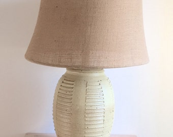 Bob Kinzie for Affiliated Craftsman Mid Century Studio Pottery Table Lamp