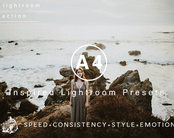 A4 Presets VSCOcam Inspired Lightroom Preset Professional Film Filters by Filter Collective