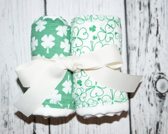St Patrick's Day Irish Burp Cloths