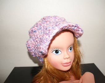 MULTICOLOR PINK CHILD HAT