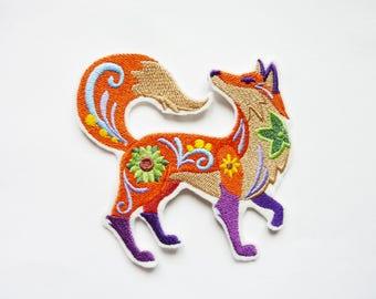 Fox autumn decor