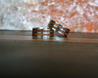 Mens Wood Ring, Wooden Ring, Mens Wooden Ring, Wood ring, Wood rings, Wood Wedding Band, Mens Wedding band, Wood ring for men, Wedding Band