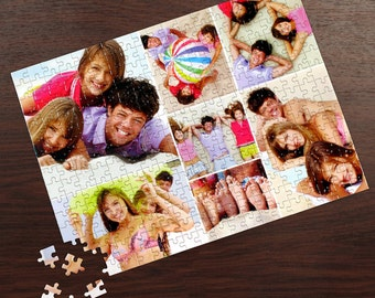 Photo Puzzle, Custom Puzzle, Photo Gift, family puzzle piece, family puzzle, 30 piece puzzle, 252 Piece puzzle, Glitter Puzzles, 300 Piece