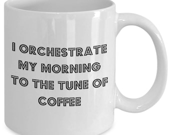 Orchestrate your morning to the tune of coffee