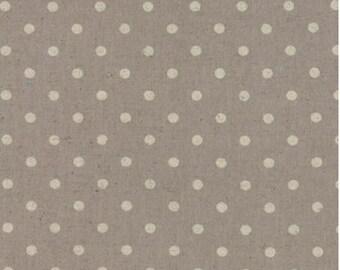 Mochi Dot Linen Putty Cotton Linen Fabric Collection for Moda  32910 22