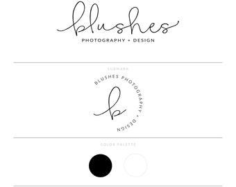 Black Logo Photography Logo Photography Watermark Lash Logo Realtor Logo Minimal Logo Eyelash Logo Doula Logo Blog Logo Branding Package