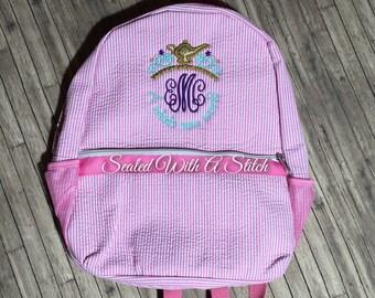Aladdin Seersucker Backpack
