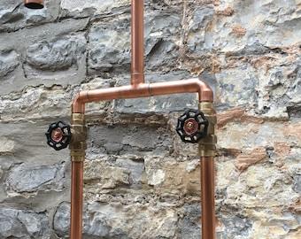 Copper pipe taps